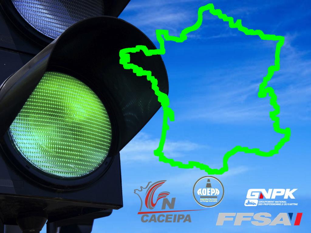 Semaforo verde in Francia